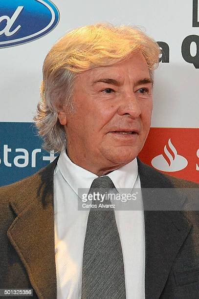 Angel Nieto attends the 2015 'AS Del Deporte' Awards at The Westin Palace Hotel on December 14 2015 in Madrid Spain