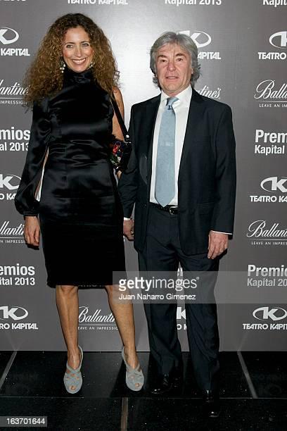 Angel Nieto attends the XI Teatro Kapital Awards at Teatro Kapital on March 14 2013 in Madrid Spain