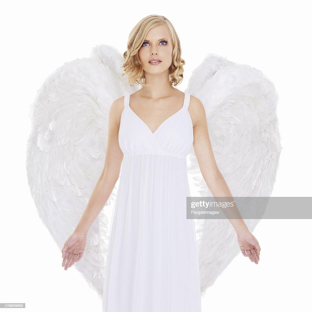 Angel of mercy : Stock Photo