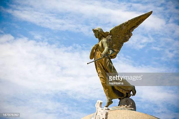 Angel von te Cemetery