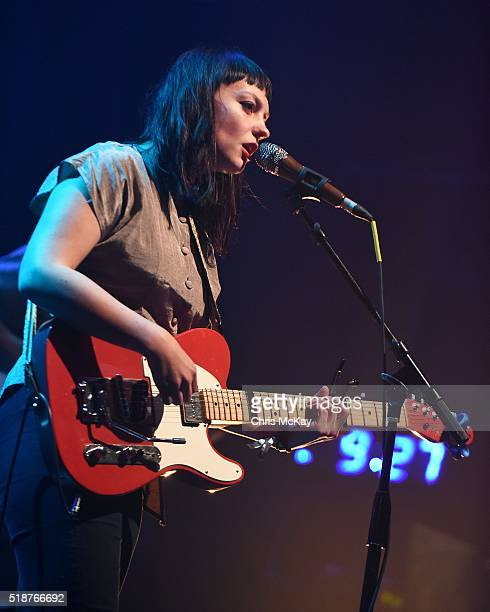 Angel Olsen performs at Georgia Theatre during the 2016 Slingshot Festival on April 1, 2016 in Athens, Georgia.