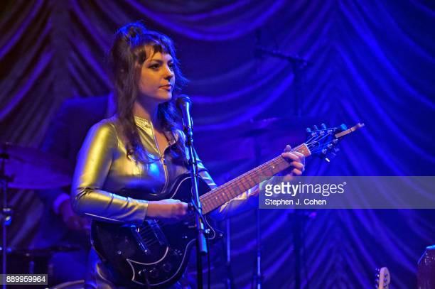 Angel Olsen performs at Mercury Ballroom on December 10 2017 in Louisville Kentucky