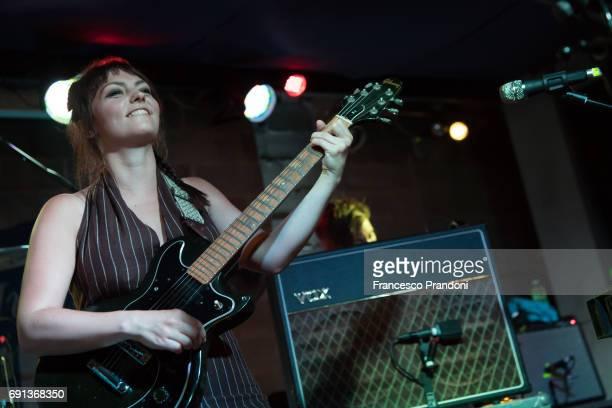 Angel Olsen Performs at Salumeria della Musica on June 1 2017 in Milan Italy