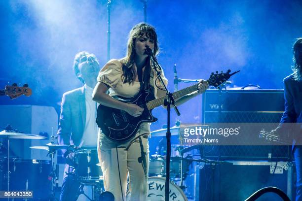 Angel Olsen performs at The Forum on October 20 2017 in Inglewood California