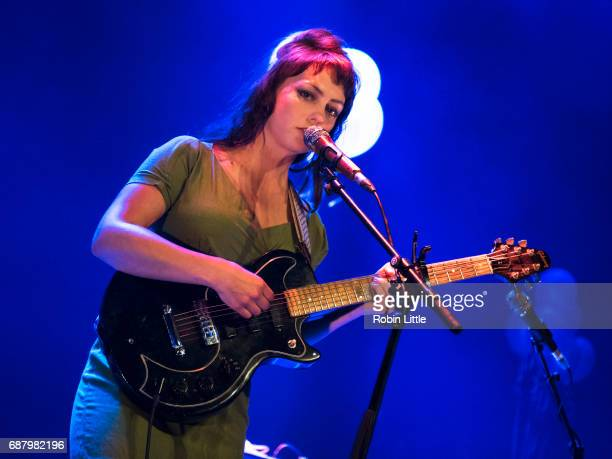 Angel Olsen performs at The Roundhouse on May 24, 2017 in London, England.