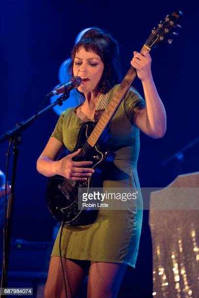Angel Olsen performs at The Roundhouse on May 24 2017 in London England