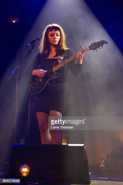 Angel Olsen performs at the Union Chapel on April 30, 2018 in London, England.