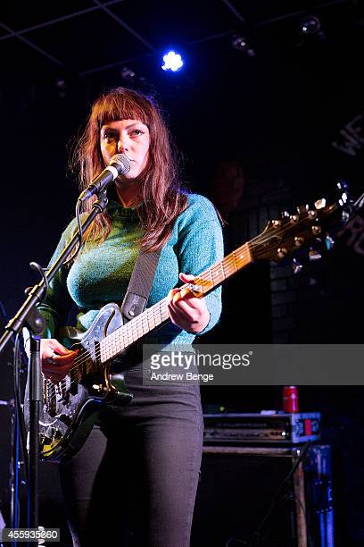 Angel Olsen performs on stage at Brudenell Social Club on September 22 2014 in Leeds United Kingdom