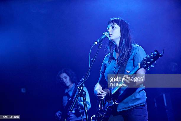 Angel Olsen performs on stage at Electric Ballroom on September 25, 2014 in London, United Kingdom.
