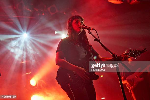 Angel Olsen performs on stage at Electric Ballroom on September 25 2014 in London United Kingdom