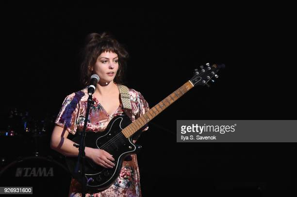 Angel Olsen performs onstage at the 31st Annual Tibet House US Benefit Concert Gala at Carnegie Hall on March 3 2018 in New York City