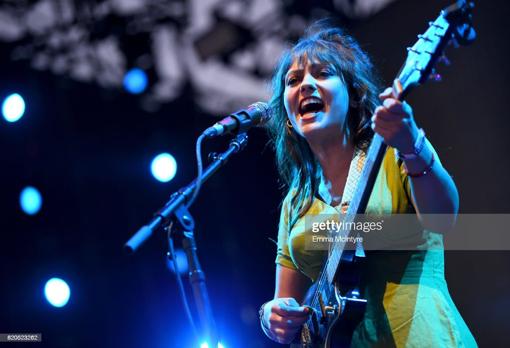Angel Olsen performs onstage during day 1 of FYF Fest 2017 on July 21, 2017 at Exposition Park in Los Angeles, California.