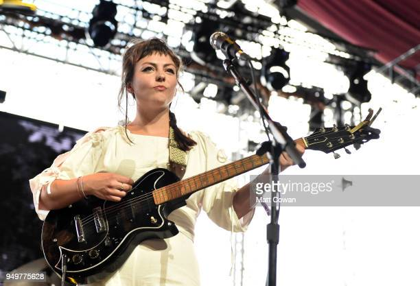 Angel Olsen performs onstage during the 2018 Coachella Valley Music And Arts Festival at the Empire Polo Field on April 21, 2018 in Indio, California.