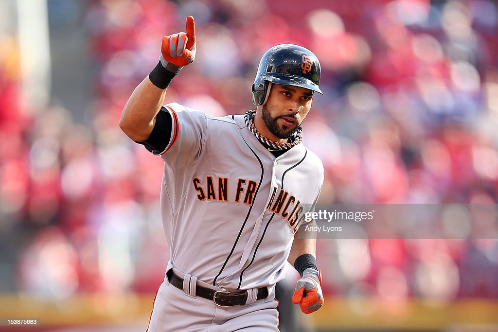 Division Series - San Francisco Giants v Cincinnati Reds - Game Four