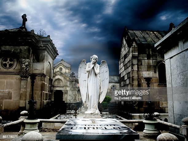 angel - angel of death imagens e fotografias de stock