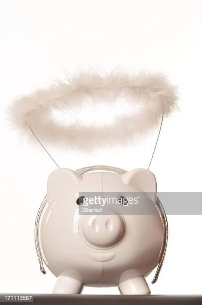 Angel piggy bank