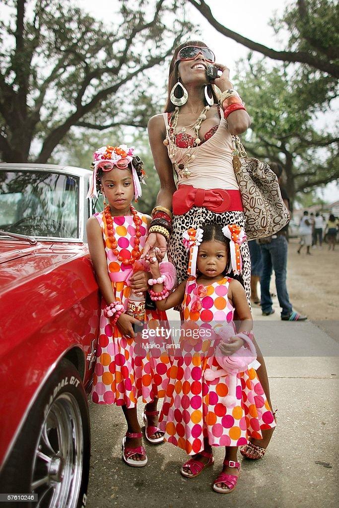 Original Big 7 Social and Pleasure Club Holds First Parade Since Hurricane Katrina : News Photo