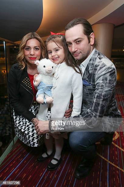Angel Reed Malena James ReedMaroulis and Constantine Maroulis attend Loukoumi Make A Difference Foundation Honors Contantine Maroulis of Rock Of Ages...
