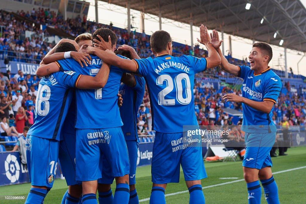 Getafe CF v SD Eibar - La Liga : News Photo