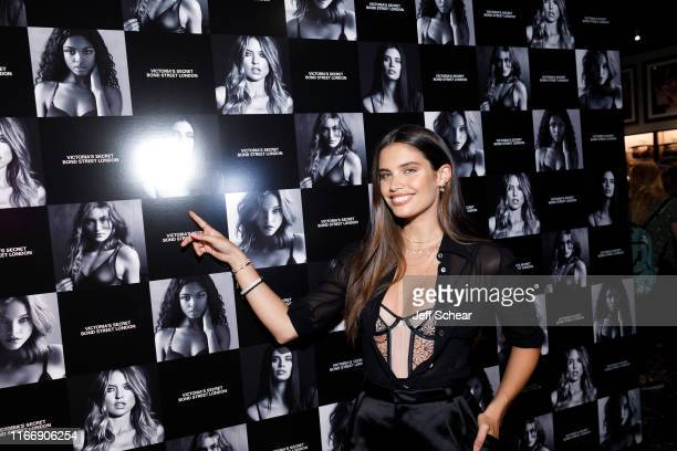 Angel Sara Sampaio attends as Victoria's Secret debuts new fall collection on August 08 2019 in Chicago Illinois