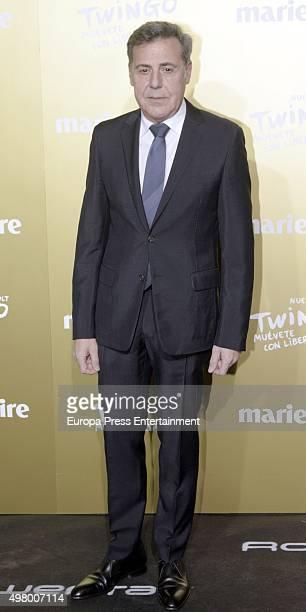Angel Schlesser attends Marie Claire Prix de la Moda Awards 2015 at Callao cinema on November 19 2015 in Madrid Spain
