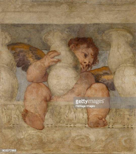 Angel seated on a balustrade Found in the Collection of Duomo di Castelfranco Veneto