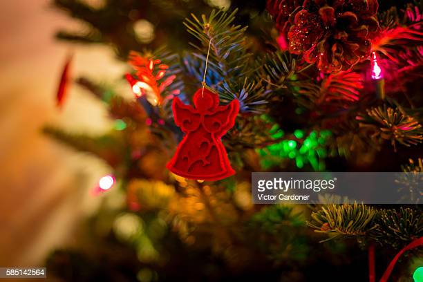 Angel shaped christmas tree decorations