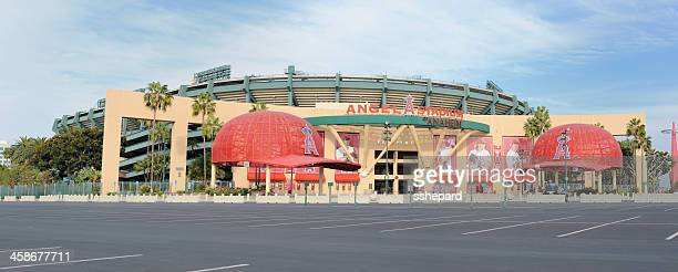angel stadium of anaheim - anaheim california stock pictures, royalty-free photos & images