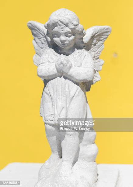 Angel Statue at Black Point in Exumas