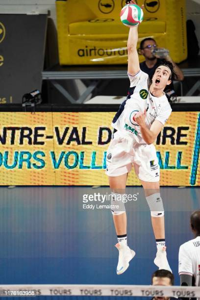 Angel TRINIDAD DE HARO of Tours during the Ligue A match between Tours and Narbonne on October 15, 2019 in Tours, France.