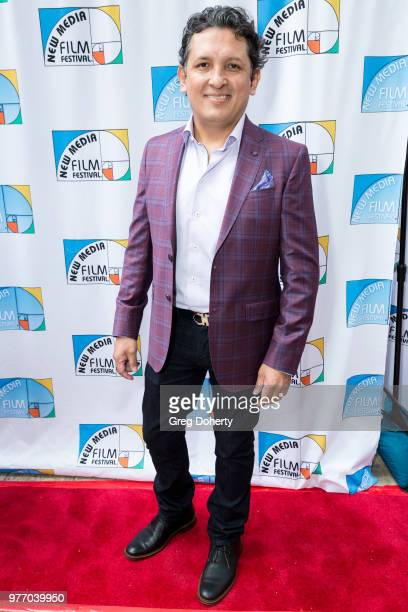 Angel Vera attends the 9th Annual New Media Film Festival at James Bridges Theater on June 16 2018 in Los Angeles California