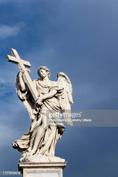 Angel with the Cross, Ponte Sant'Angelo, Rome
