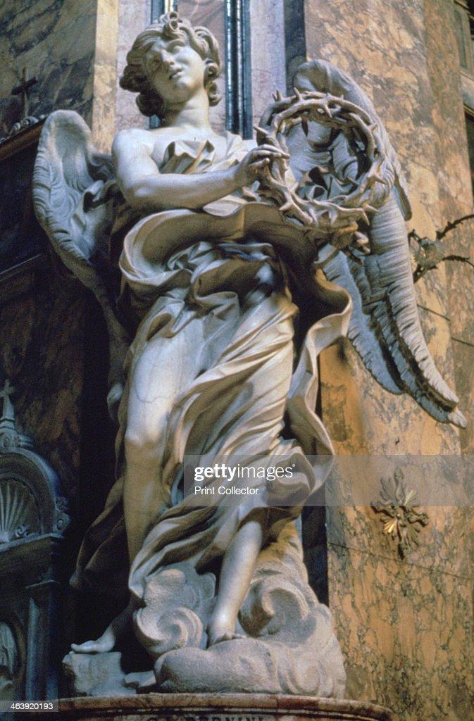 'Angel with the Crown of Thorns', 1667-1669. Artist: Gian Lorenzo Bernini : News Photo