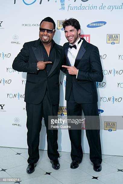 Angel Yos and Cayetano Rivera attend Yo Nino Foundation benefit dinner on July 10 2014 in Madrid Spain