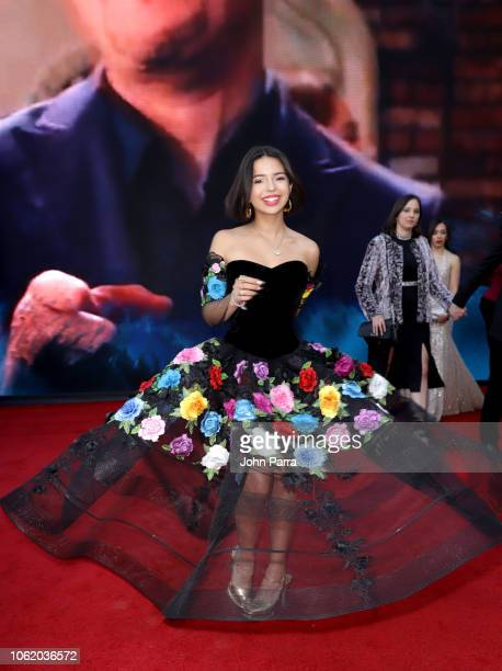 Angela Aguilar attends the 19th annual Latin GRAMMY Awards at MGM Grand Garden Arena on November 15 2018 in Las Vegas Nevada