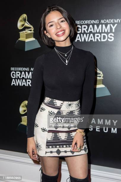 Angela Aguilar attends The Grammy Museum Latin Music Gallery Opening at The GRAMMY Museum on November 18 2019 in Los Angeles California