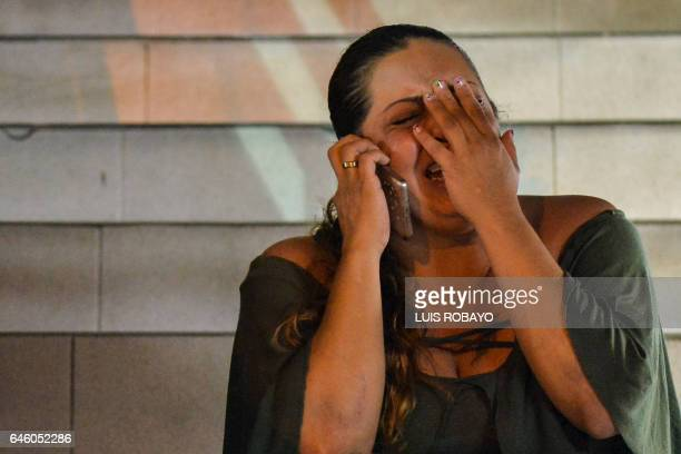 Angela Arciniegas the niece of Ismael Enrique Arciniegas who was arrested in China for drug trafficking reacts after her uncle called to say goodbye...