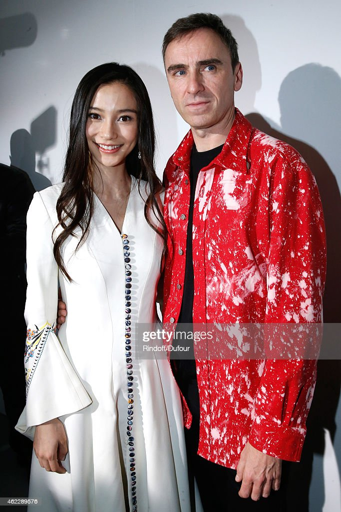 Christian Dior : Backstage - Paris Fashion Week - Haute Couture S/S 2015