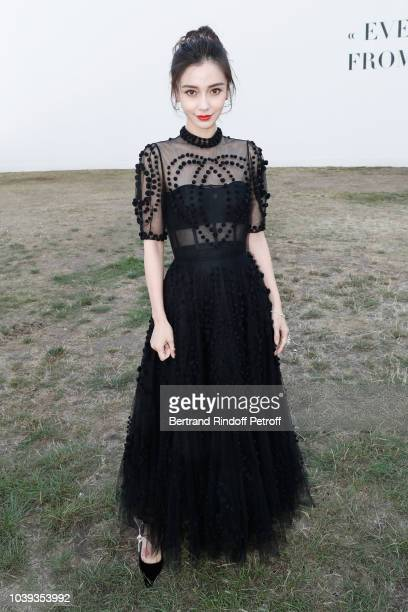 Angela Baby attends the Christian Dior show as part of the Paris Fashion Week Womenswear Spring/Summer 2019 on September 24 2018 in Paris France