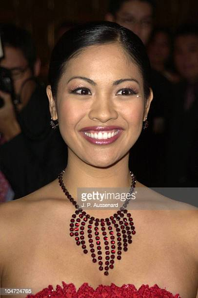 Angela Baraquio Miss America 2001 during Second AMMY Awards For Asian American Entertainment at Orpheum Theater in Los Angeles California United...