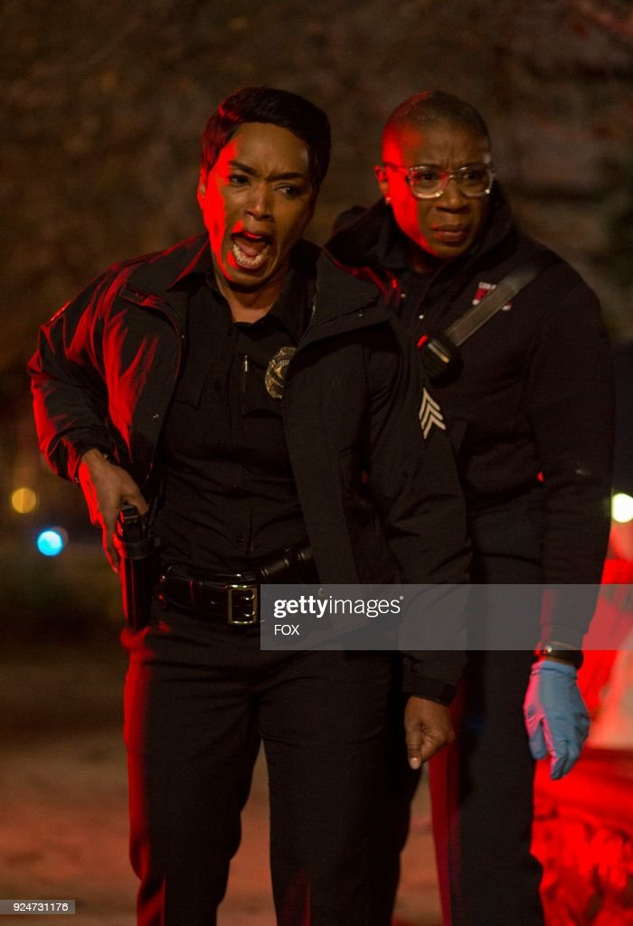 Angela Bassett and Aisha Hinds in the Full Moon (Creepy AF) episode of 9-1-1 airing Wednesday, Feb. 28 (9:00-10:00 PM ET/PT) on FOX.