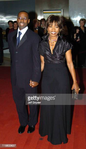 Angela Bassett and Courtney Vance during The 27th Annual Kennedy Center Honors at The John F Kennnedy Center for the Performing Arts in Washington...