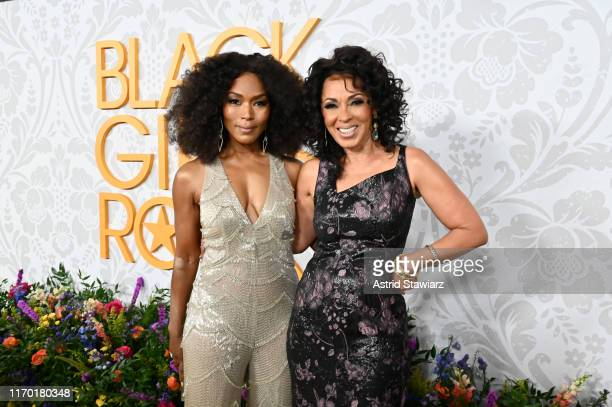 Angela Bassett and Debra Martin Chase attend Black Girls Rock 2019 Hosted By Niecy Nash at NJPAC on August 25, 2019 in Newark, New Jersey.