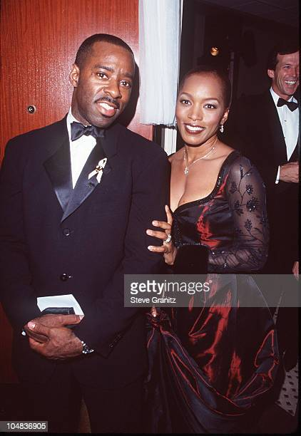 Angela Bassett and her husband Courtney B Vance during 13th Annual Carousel of Hope Ball Benefiting Childrens Diabetes at Beverly Hilton Hotel in...