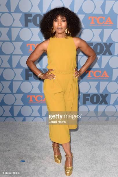 Angela Bassett arrives at FOX Summer TCA 2019 AllStar Party at Fox Studios on August 07 2019 in Los Angeles California