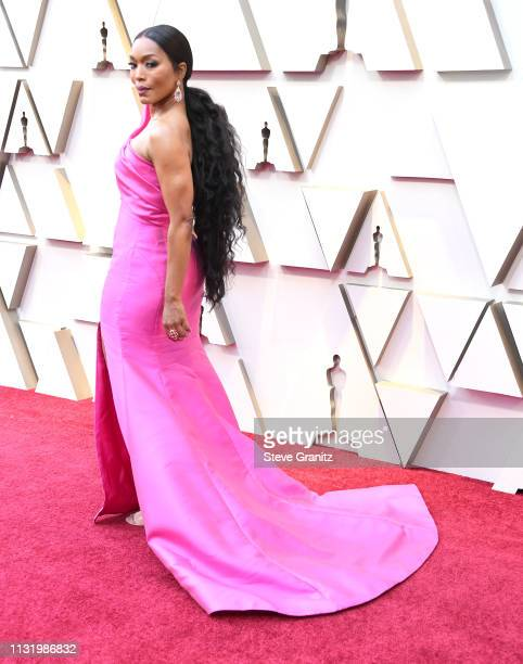 Angela Bassett arrives at the 91st Annual Academy Awards at Hollywood and Highland on February 24 2019 in Hollywood California