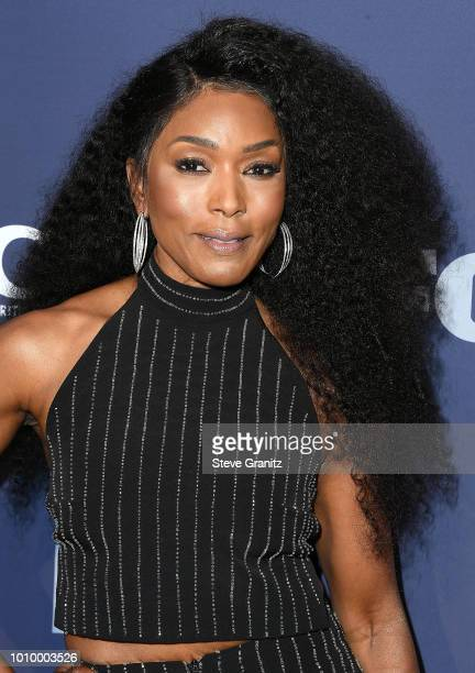 Angela Bassett arrives at the FOX Summer TCA 2018 AllStar Party at Soho House on August 2 2018 in West Hollywood California