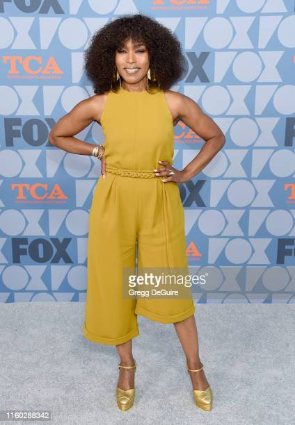 Angela Bassett arrives at the FOX Summer TCA 2019 AllStar Party at Fox Studios on August 7 2019 in Los Angeles California