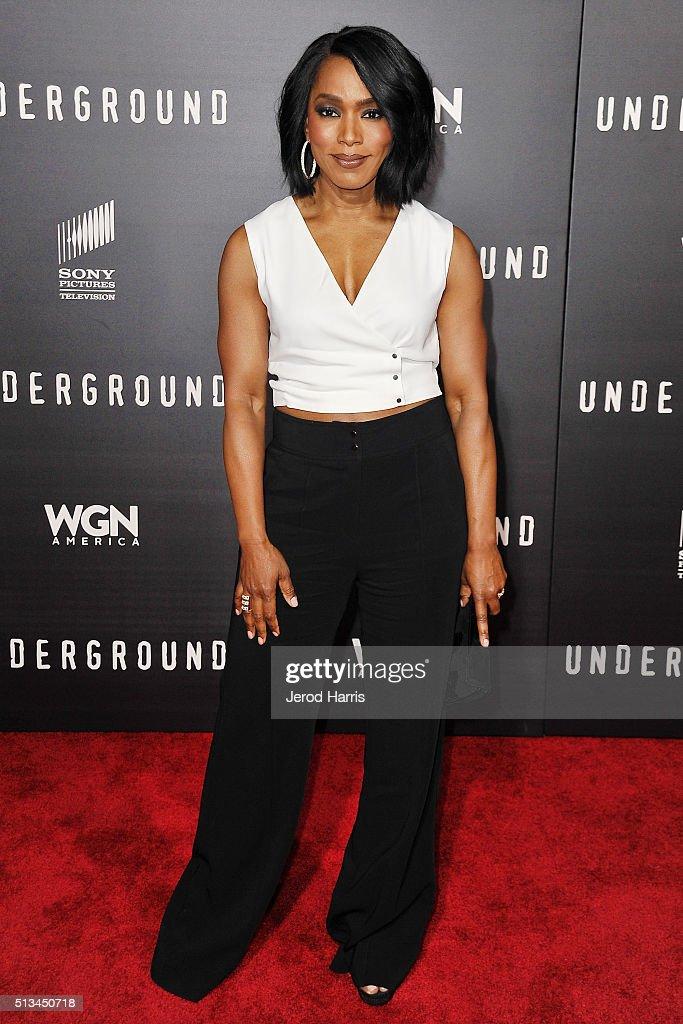 "Premiere Of WGN America's ""Underground"" - Arrivals : ニュース写真"