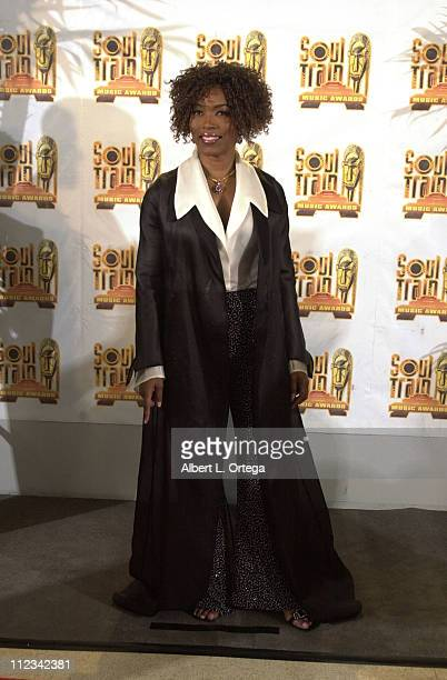 Angela Bassett at the 16th Annual Soul Train Music Awards in Los Angeles California on March 20 2002